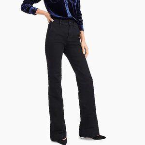 J.Crew Wide-Leg Trouser Jean in Black